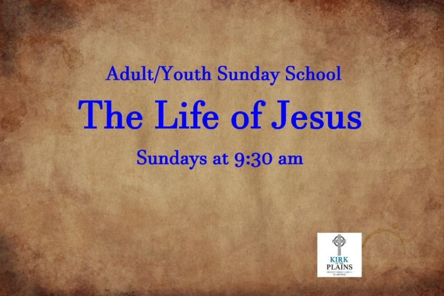 Adult & Youth Sunday School