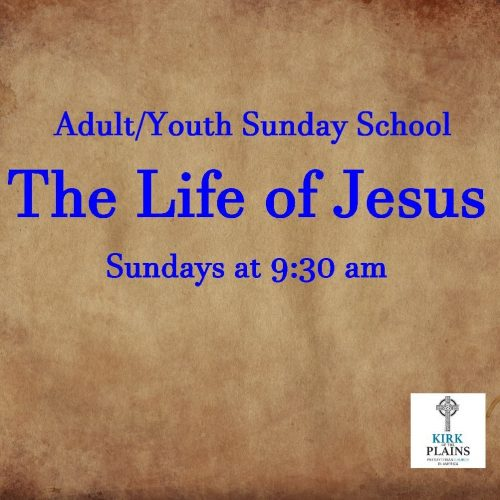 Adult/Youth Sunday School
